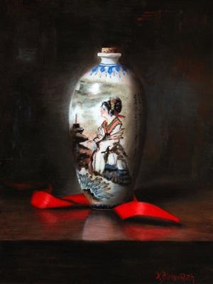 geisha red by kelly birkenruth