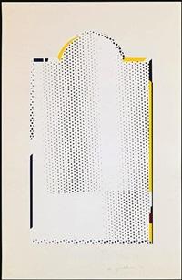 mirror #7 by roy lichtenstein