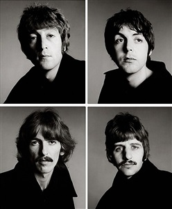 the beatles london by richard avedon