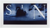 sin without blue by ed ruscha