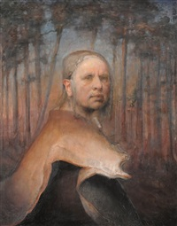 self-portrait by odd nerdrum