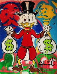 scrooge money bags by alec monopoly