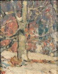 woodland labyrinth 1 by john fabian carlson