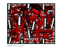 whippets by gilbert & george