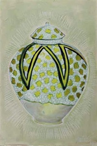 gold vase by andrew james ward