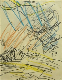 primrose hill by frank auerbach