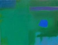 blue on green by esteban vicente