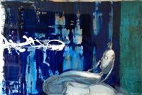 dame sous bleu by sylvain tremblay