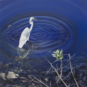 the looking glass (sold) by del-bourree bach