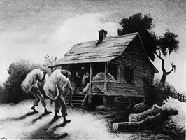 back from the fields by thomas hart benton