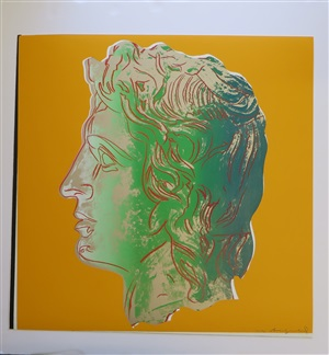 alexander the great tp by andy warhol