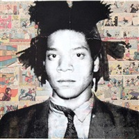 jean-michel basquiat by mr. brainwash