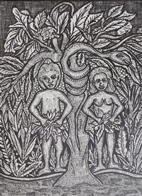 adam and eve first love by nike davies-okundaye