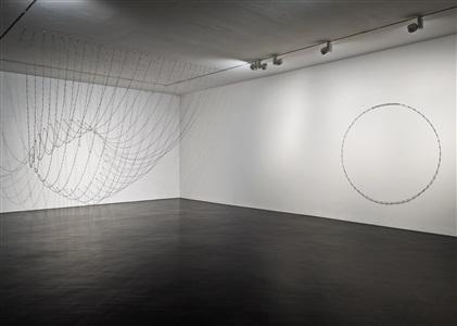installation view stephen friedman gallery london by melvin edwards