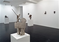 installation view: stephen friedman gallery, london by melvin edwards