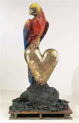 king parrot by jim dine