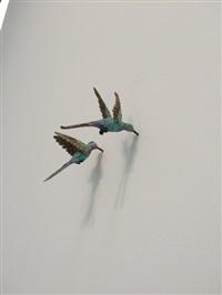 2 beija-flores (tesoura) by efrain almeida