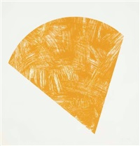 untitled (orange, state 1) by ellsworth kelly