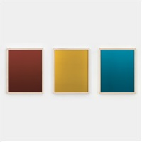 red, yellow, blue mirrors:1-3, suite viii by sherrie levine