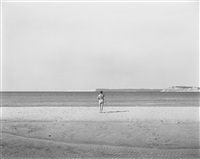 eleanor, lake michigan by harry callahan