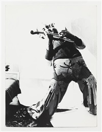 untitled, playing music in the kirchfeldstr by sigmar polke