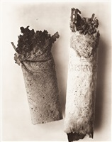 cigarette no. 034, new york by irving penn