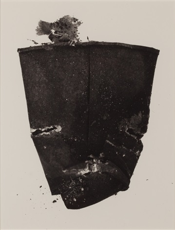 cup face, new york by irving penn