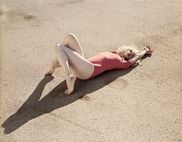 nicole, crissy field parking lot (ii) by katy grannan