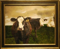 cows by jamie wyeth