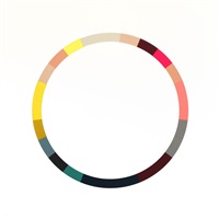 colour wheel 5 by sophie smallhorn