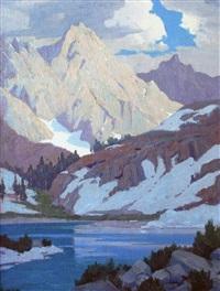 sierra lake by elmer wachtel