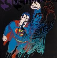 myths: superman (f&s ii.260) by andy warhol