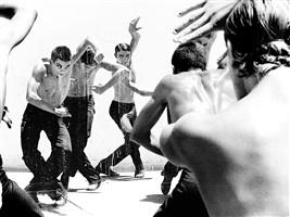 """dancers: conservatorio profesional de danza """"antonio ruiz soler"""", """"el cortijo de la sierra"""", el cuervo, sevilla, españa by ruven afanador"""