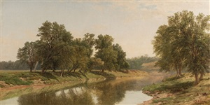river reflections by john william casilear