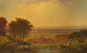 indian summer, massachusetts by alfred thompson bricher