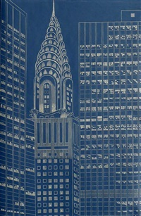 chrysler building, st. ii by yvonne jacquette