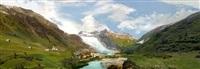 rhonegletscher 1900 by hiroyuki masuyama