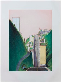 park place by wayne thiebaud