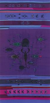 amulet (purple akrep) by angelo filomeno