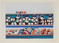 toy counter, from seven still-lifes and a rabbit by wayne thiebaud