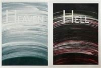 heaven / hell by ed ruscha