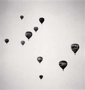 ten balloons albuquerque new mexico usa by michael kenna