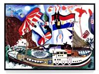 regatta by malcolm morley