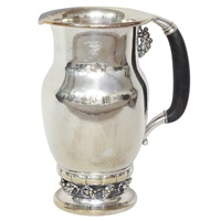 large water pitcher by georg jensen