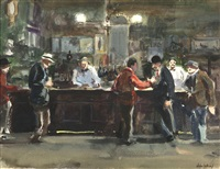 mcsorley's, new york by john whorf