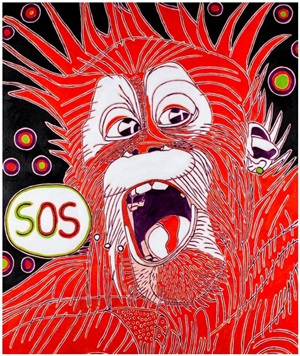talking monkeys / sos by eva bur am orde