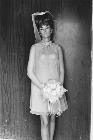 topless bridesmaid by lee friedlander