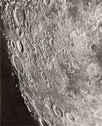 photographie lunaire: cléomède - posidonius - hercale - 10 septembre 1900, 12h 9 by loewy & puiseux