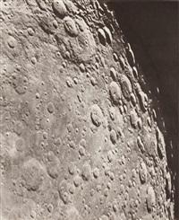 photographie lunaire: janssen - barocius - mutus, 30 septembre 1901, 13h 5 t.m. de paris by loewy & puiseux
