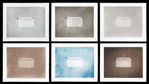the unphotographable by mel bochner